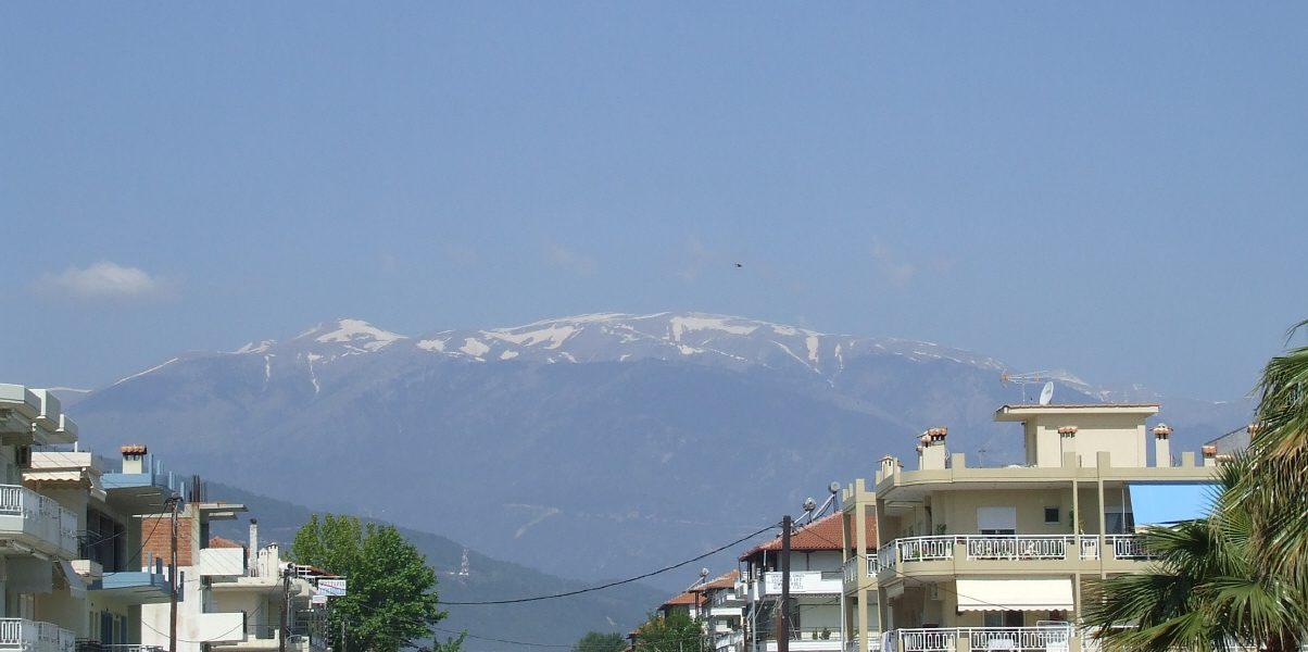 Das Olympgebirge